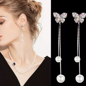 Butterfly 🦋 long lightweight earrings